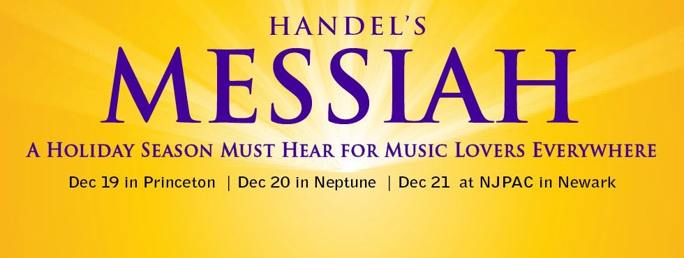 HANDEL'S MESSIAH | New Jersey Symphony Orchestra