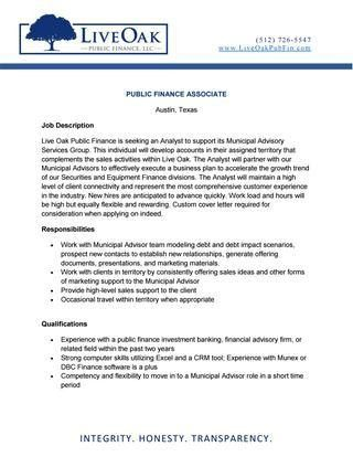 Lopf associate job posting by TREA - issuu