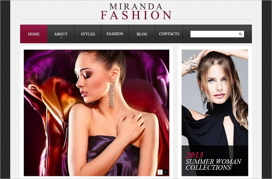 15+ Fashion Drupal Website Templates || Free & Premium | Creative ...