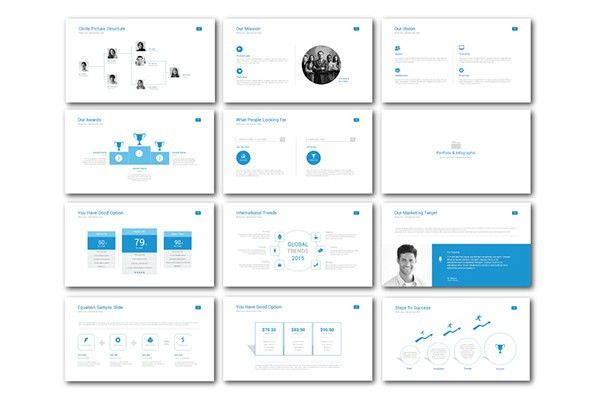 Clean Powerpoint Template - Roncade.info
