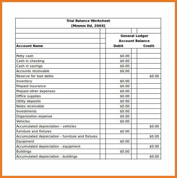 balance sheet template excel | art resume skills