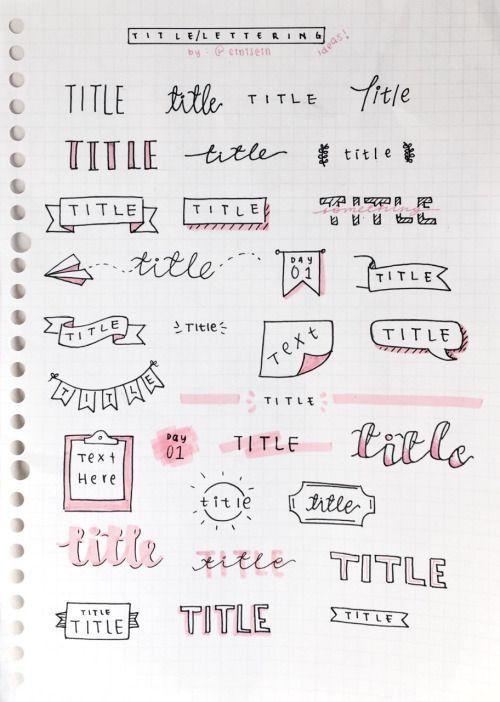 110 best journal images on Pinterest | Journal ideas, Bullet ...