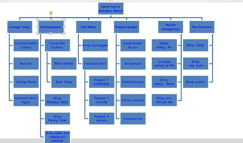 WBS (Work Breakdown Structure) in MS PROJECT 2010   Nenad Trajkovski