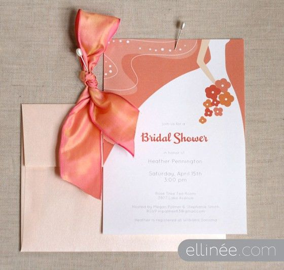 Bridal Shower Invitation Template | The Elli Blog