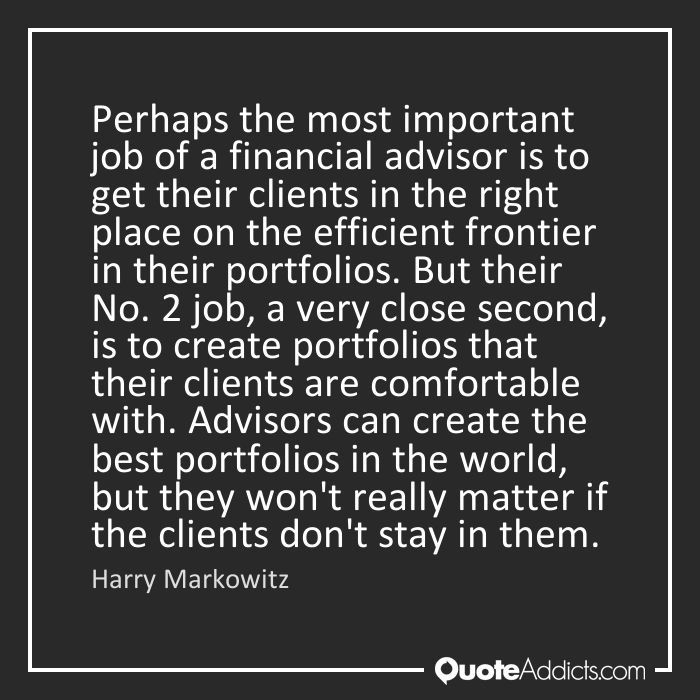 Quotes on Financial Advisor | Quote Addicts