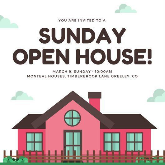 Open House Invitation Templates - Canva