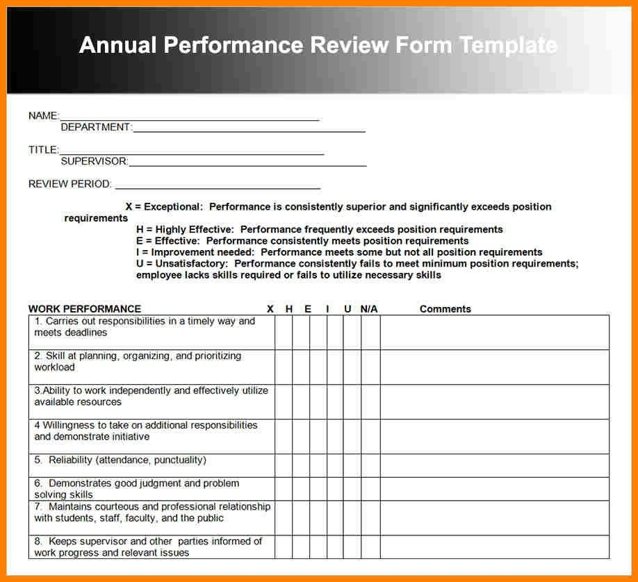 6+ employee performance review template word | farmer resume