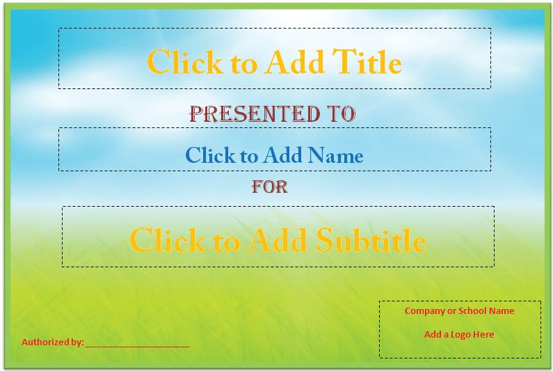 43 Stunning Certificate and Award Template Word Examples : Thogati