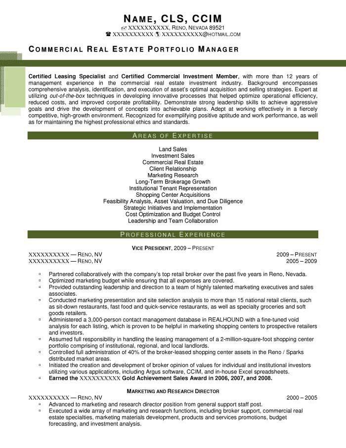 Sample Executive Resume. Executive Resume Format 10+ Executive ...