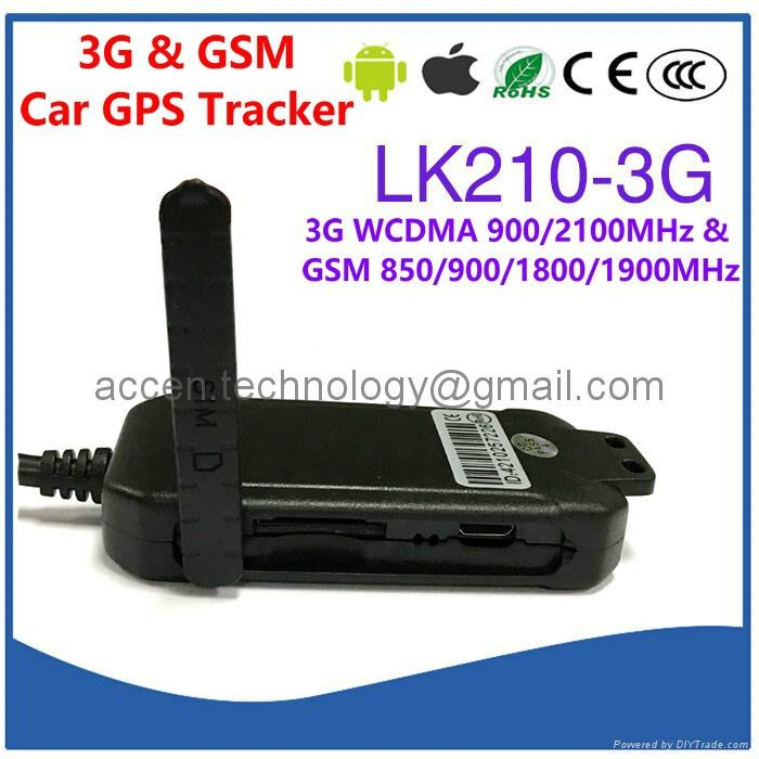 3G WCDMA GSM Car GPS Tracker Locator LK210-3G Cutoff Oil & Power