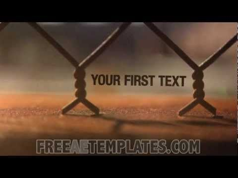 """Free After Effects Intro Template """"Inner City"""" - YouTube 