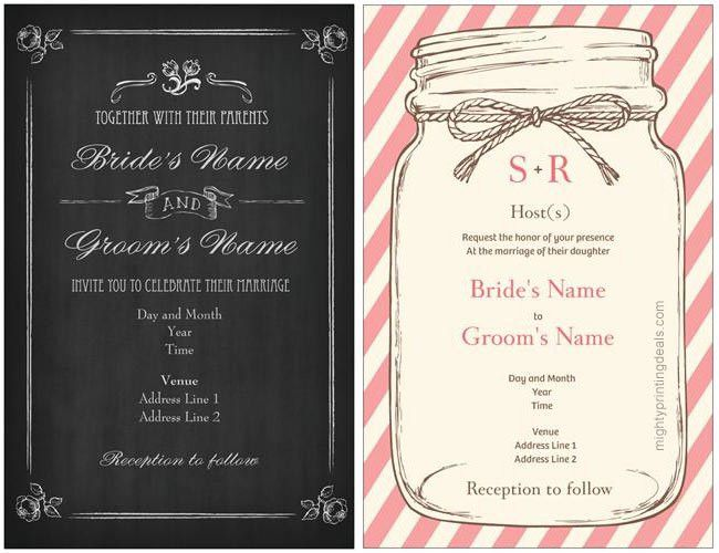 Vistaprint Wedding Invitations: Coupon for a 25% Discount