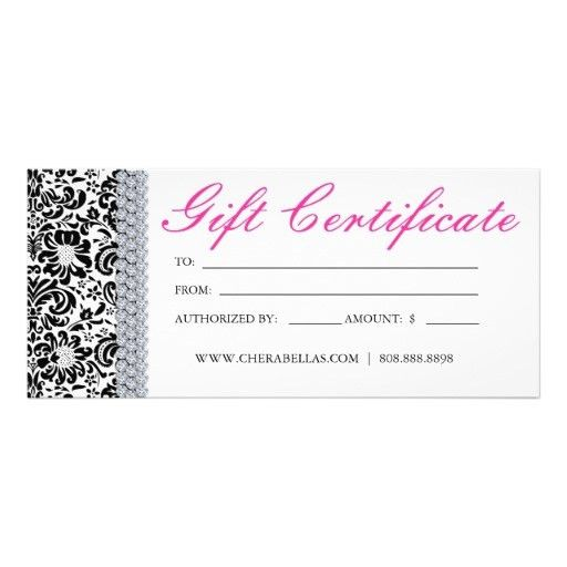 10 Best Images of Spa Gift Certificate Template Fillable ...