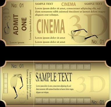 Event ticket design free vector download (1,163 Free vector) for ...