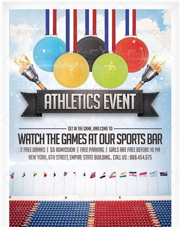 24 best Sports Flyer Template images on Pinterest | Party flyer ...