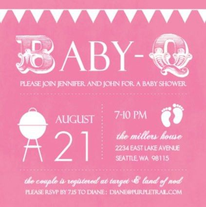 Baby Shower Invitation Wording Ideas - marialonghi.Com