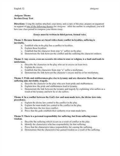 How to write a narrative essay outline