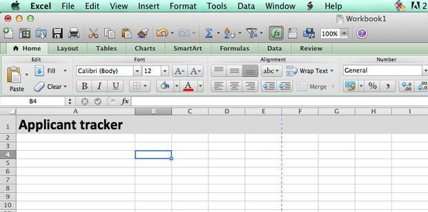 Building a Job Applicant Tracking Spreadsheet: 7 Steps