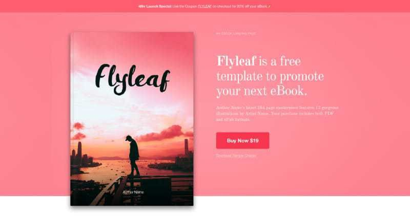 One Page Landing Page Templates