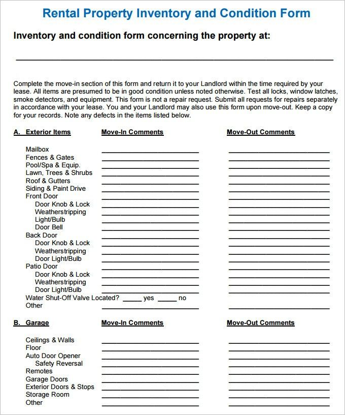 Amazing Inventory List For Landlords Photos - Best Resume Examples ...