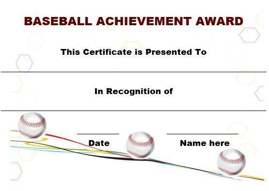 19 best Baseball certificate templates images on Pinterest | Free ...