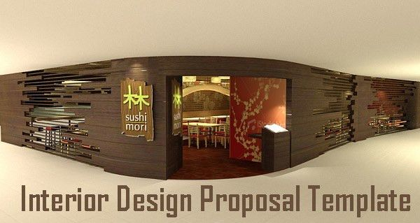 Sample Interior Design Proposal Template - Excel Templates