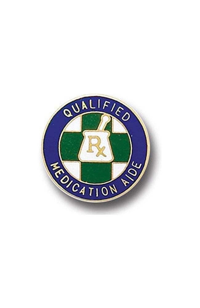 Arthur Farb Qualified Medication Aide Pin | allheart.com