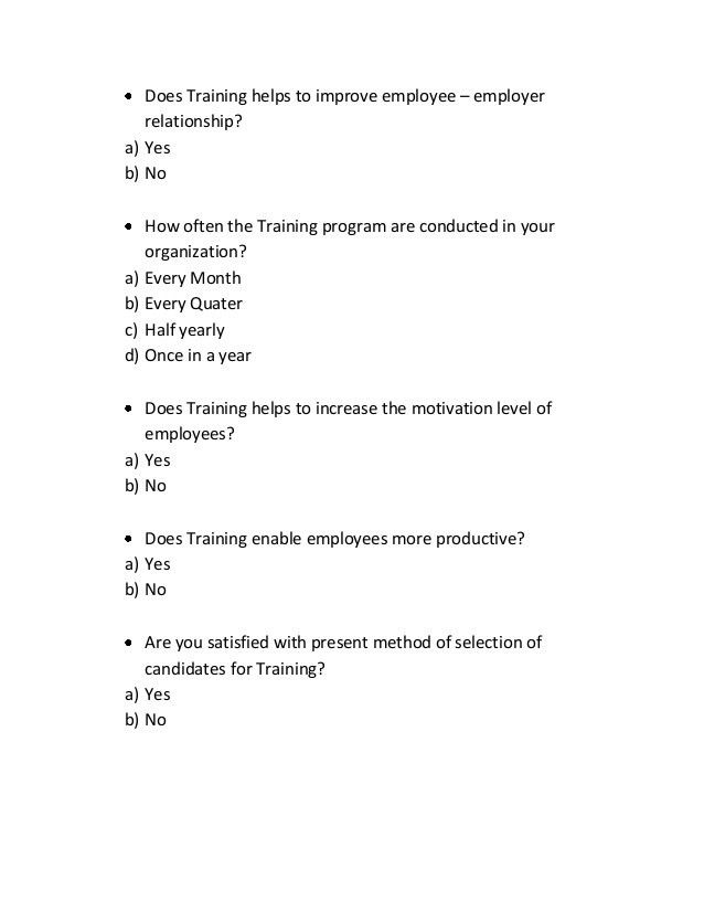 Employee Survey Template. Questionnaire Sample Employee Survey ...