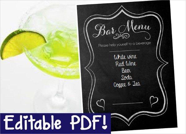 6+ Engagement Party Menu Templates - Designs, Templates | Free ...