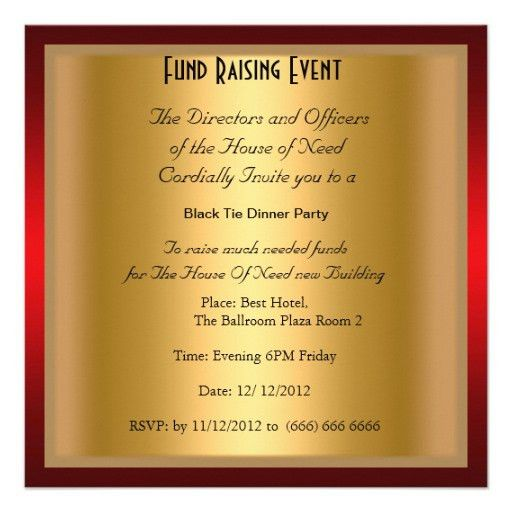 Impactful Dinner Party Invitation Template Almost Luxury Article ...