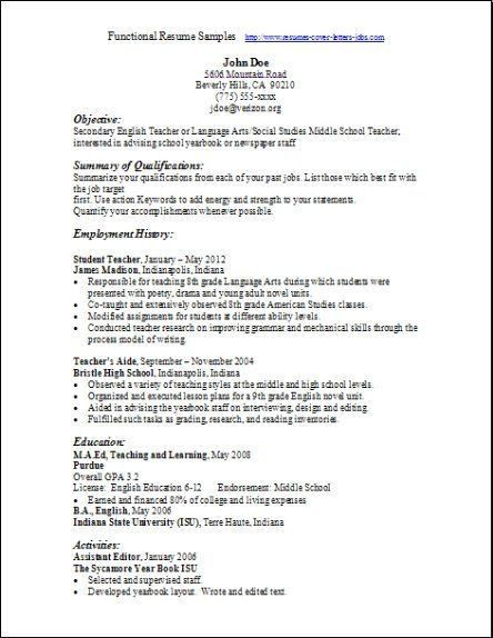 exle combination resume nursing low experienceresume