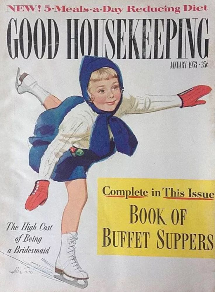 629 best Vintage Good Housekeeping magazine covers etc images on ...