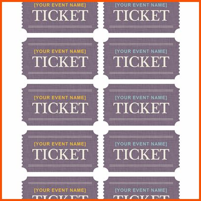 12+ microsoft word ticket template | Survey Template Words