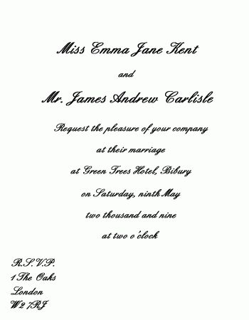 Wedding Reception Only Invitation Wording | THERUNTIME.COM