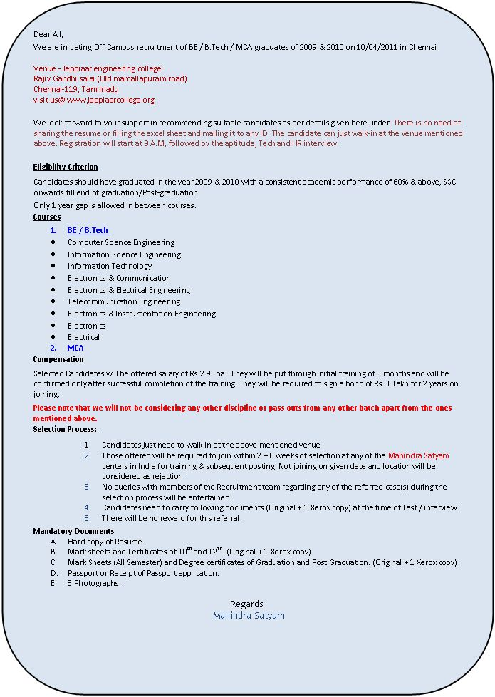 Eligibility criteria to get job in Wipro? - Page 2
