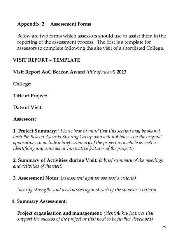 Assessment Handbook 2013