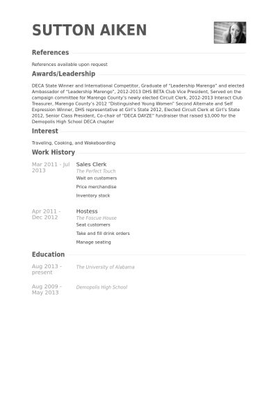 20+ [ Sample Resume For Sales Executive ] | Chronological Resume ...
