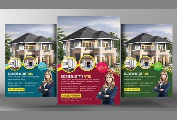 20 Nice Open House Flyer Templates
