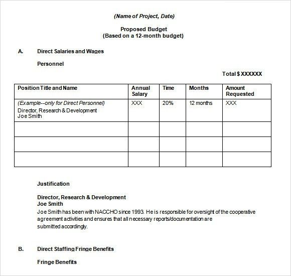 Sample Word Proposal Template. 450596: Sample Proposal Template ...