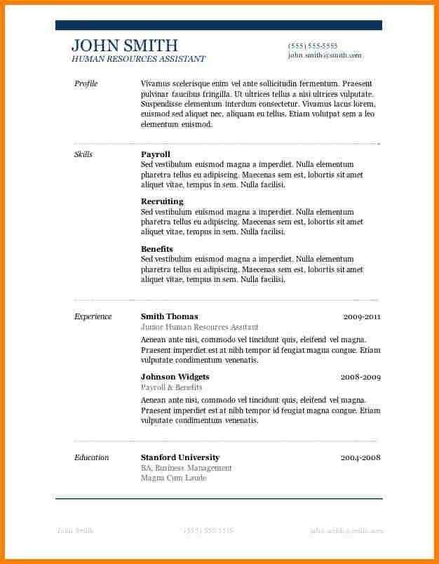 resume latex template stanford - Gfyork.com