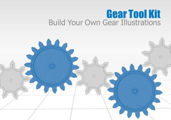 Animated Gears Toolkit And Templates For PowerPoint Presentations