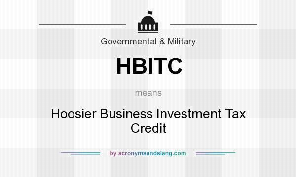 What does HBITC mean? - Definition of HBITC - HBITC stands for ...