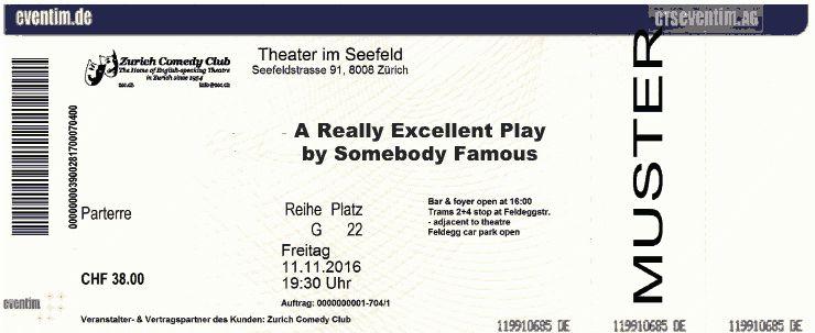 Ticket-prices - Zurich Comedy Club
