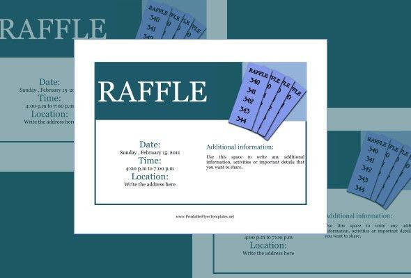 Raffle Flyer Template – 24+ Free PSD, EPS, AI, InDesign Format ...