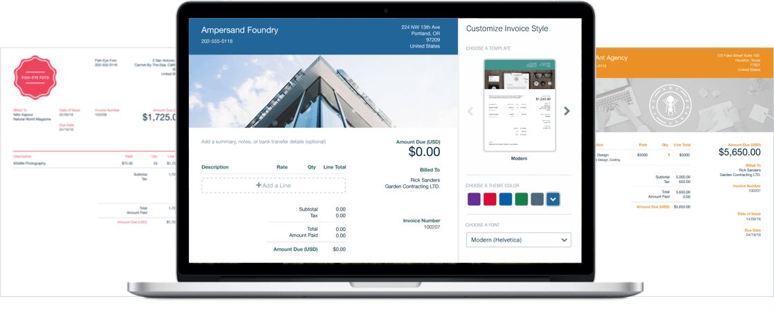 The Best Invoice & Invoicing Software Online | FreshBooks