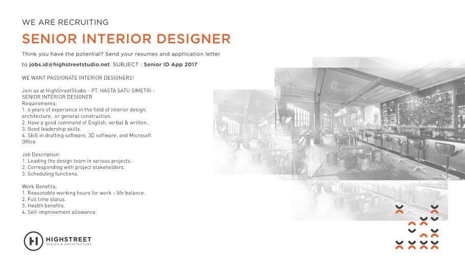 HighStreetStudio : Interior Design ; Architectural Design Jakarta ...