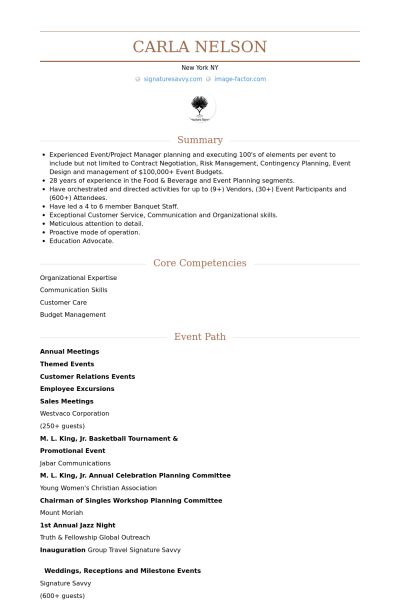 Employee Resume samples - VisualCV resume samples database