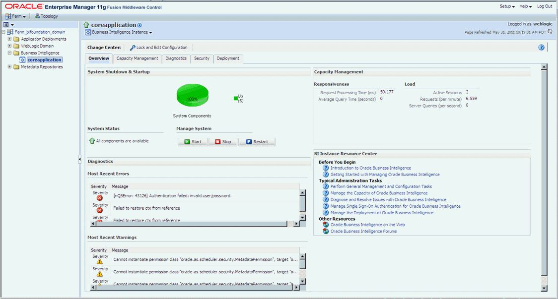 Installing Oracle Pharmacovigilance Operational Analytics