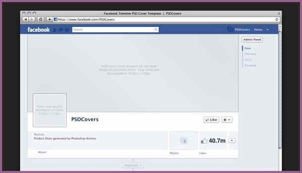 FACEBOOK TEMPLATE DOWNLOAD | designproposalexample.com