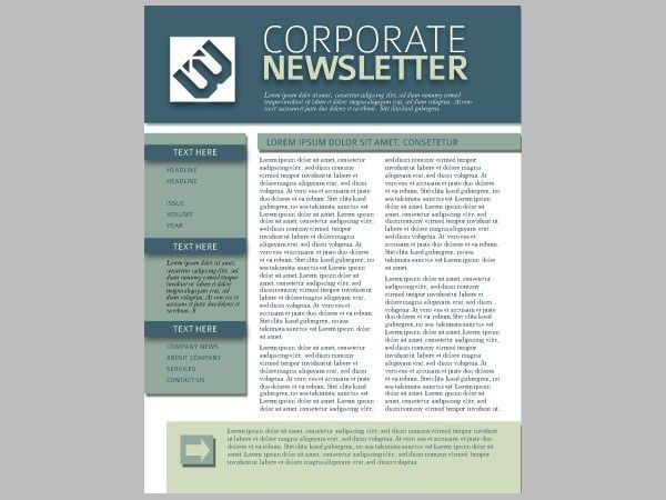 22+ Free Newsletter Templates - Free PSD, AI, Vector, EPS Format ...